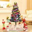 圣诞节装饰小型圣诞树迷你60cm1.5米1.8米2.1米发光套餐套装家用