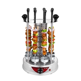 Lai Ming grill household electric smokeless barbecue skewers automatically rotating machine