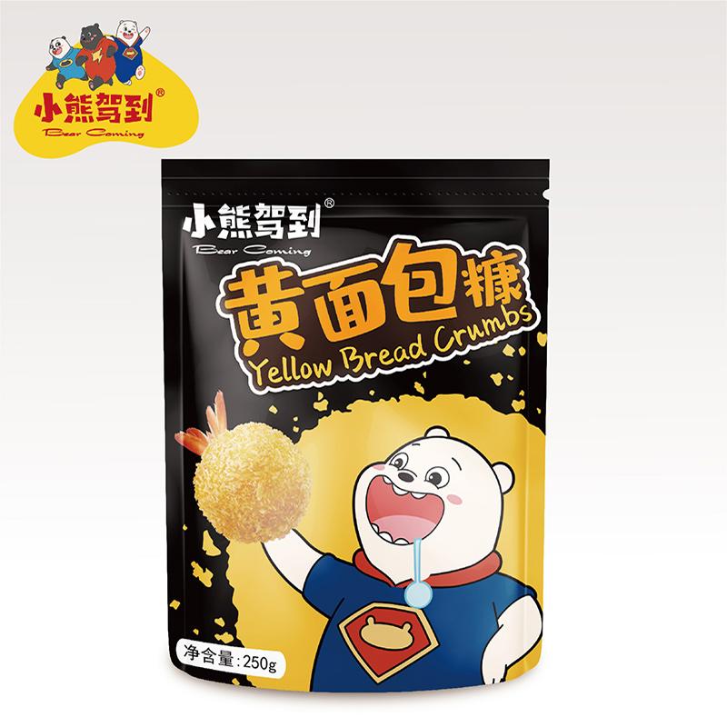 面包糠家用油炸香酥香蕉脆皮鸡排粉屑糖商用炸鸡裹粉金黄色小包装