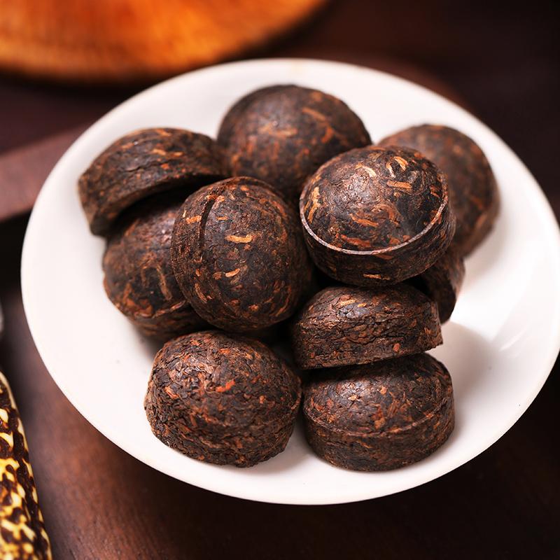 【买一送一】中茶君印7581云南普洱茶砖 5年陈料熟茶200g  中粮