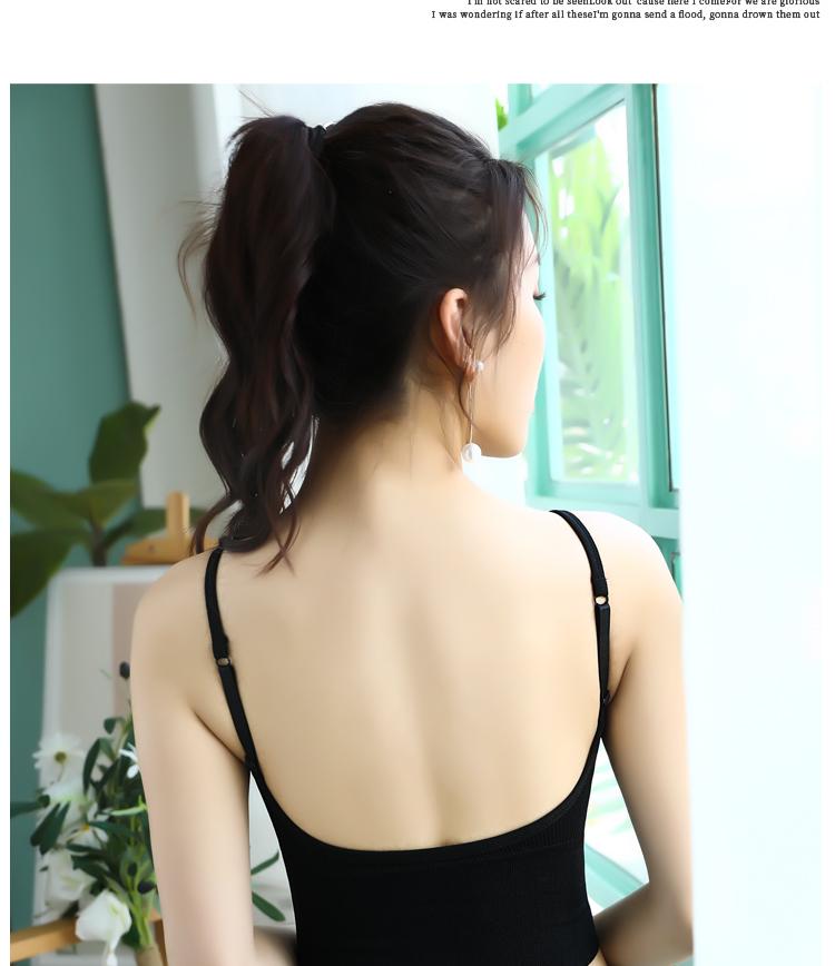 紫速美背抹胸式聚拢无钢圈裹胸背心式无缝运动内衣女性感甜美文胸