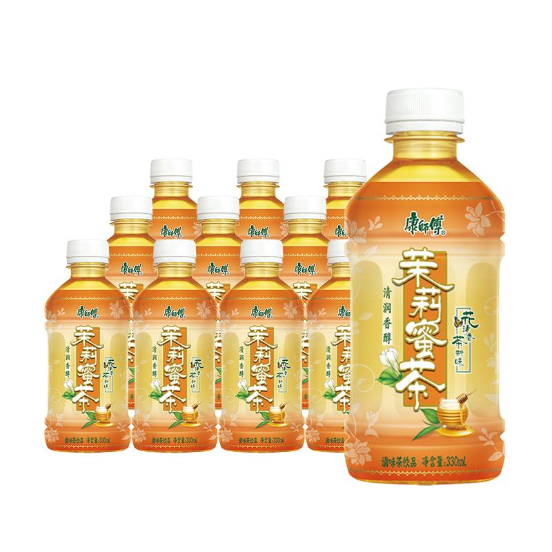康师傅绿茶/冰红茶/鲜果橙/茉莉蜜茶/酸梅汤330mL×12瓶