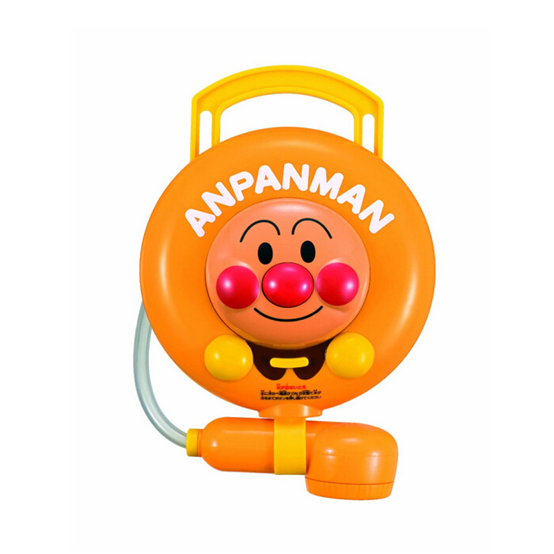 真假对比日本正品面包超人花洒宝宝儿童婴儿洗澡戏水喷水淋浴玩具
