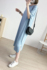 Modal Breastfeeding Dress Summer Breastfeeding Pajamas Going Out in Summer Ice Silk Pu Breast Period Over-the-knee Long Skirt Cool Wear