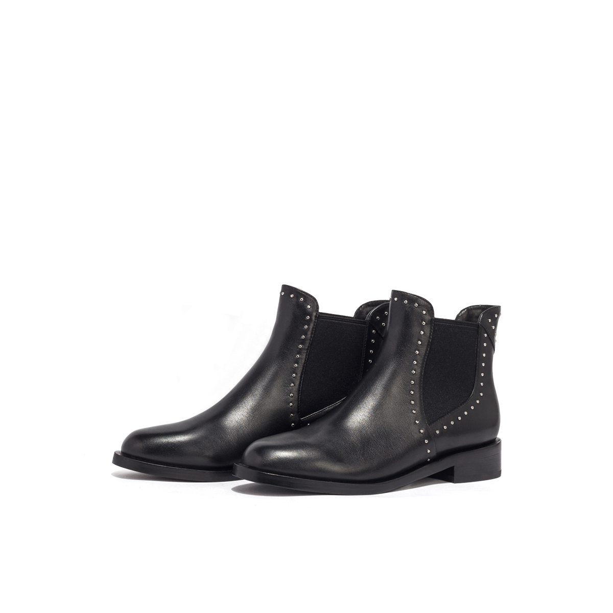 SS03116330 新款秋冬英伦风圆头切尔西靴时尚短靴女靴 2020 星期六