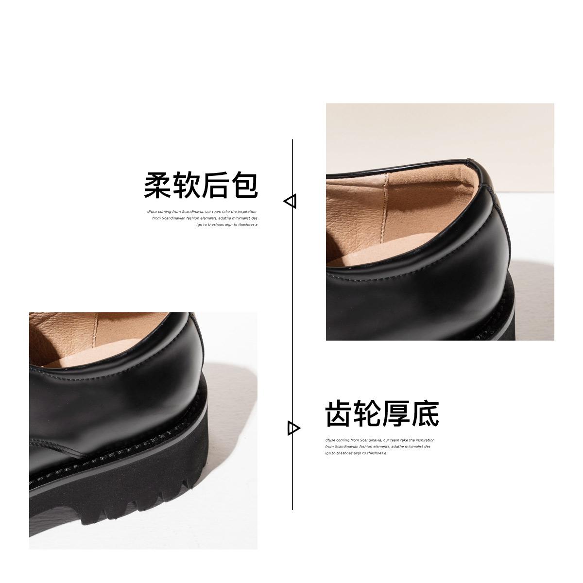 SS03112002 秋季新款休闲女 2020 星期六时尚单鞋厚底休闲深口女单鞋