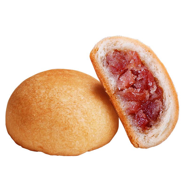 云腿月饼云南特产宣威火腿蛋黄月饼礼盒装送礼酥皮小饼散装多口味