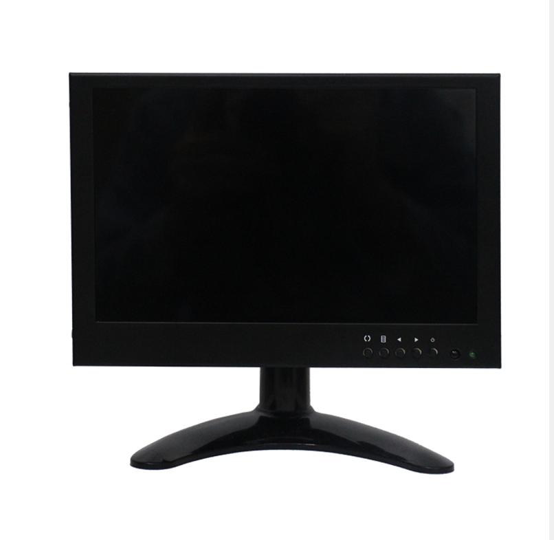 8寸IPS HDM VGA高清1280X800液晶监视器车载视频监控电脑宽显示器