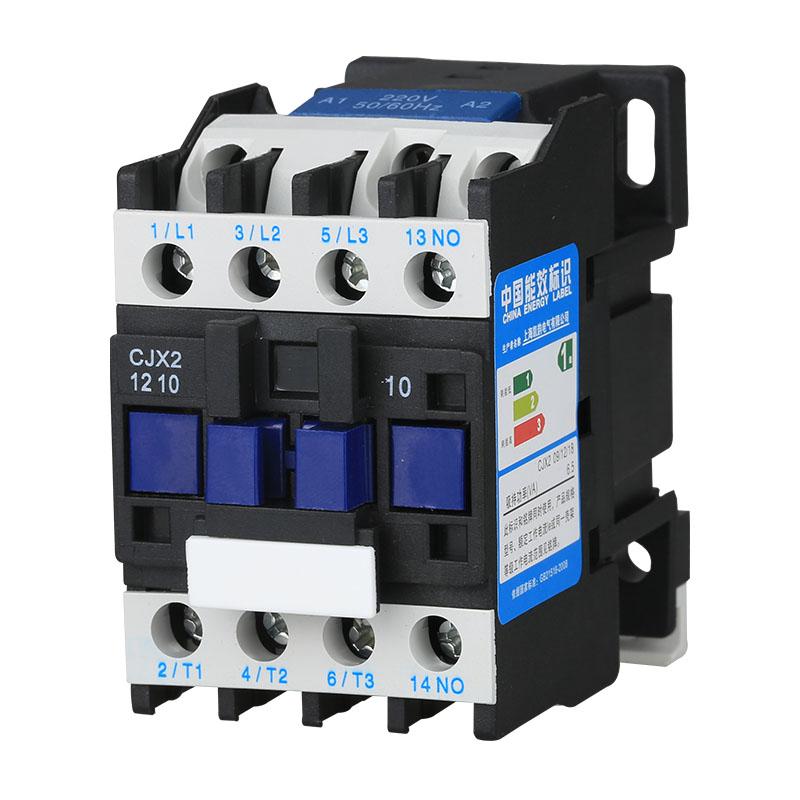 D LC1 110V 24V 380V 220V 12A 银点 1201 1210 CJX2 交流接触器
