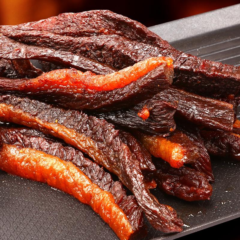 牛肉干零食钱毅牛肉干烧烤肥风干牛肉肥瘦牛肉干食品不加防腐超香