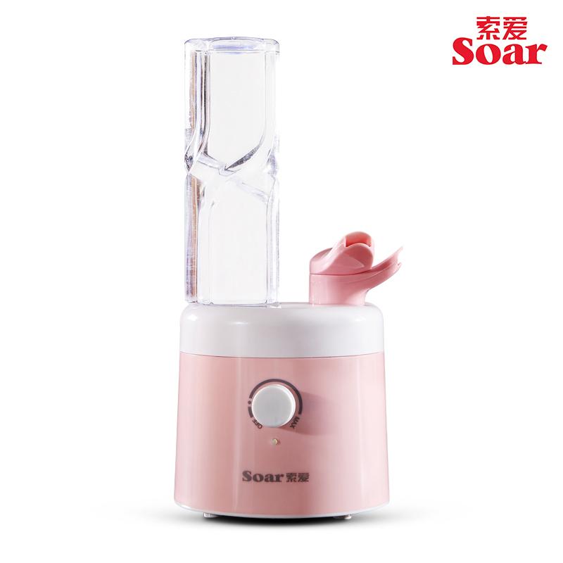 索爱加湿器迷你家用静音卧室办公室桌面小型矿泉水瓶便携空气空调