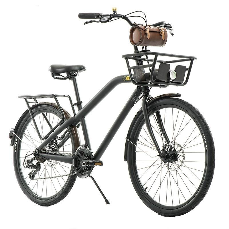 NOMAD正品城市通勤自行车碟刹铝合金男女复古大人公路车日本变速高清大图
