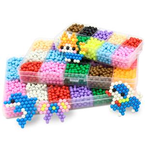 水雾神奇魔法珠儿童创意手工制作材料diy女孩玩具水露魔珠套装
