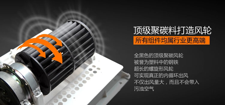 冷風扇靜音大風力涼霸 廚房衛生間遙控擺頁 集成吊頂電風扇