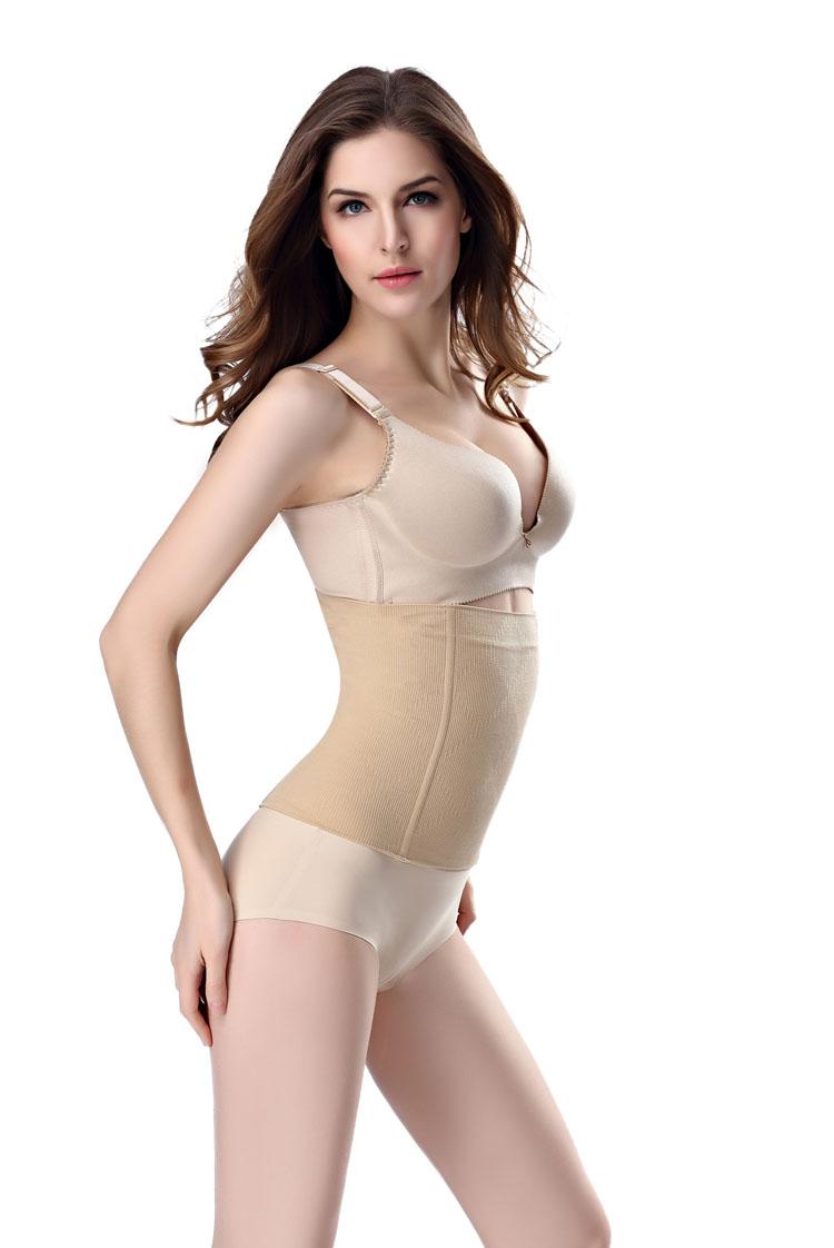 春夏款产后瘦身收腹带减肚子无痕瘦腰束腰带美体塑身衣腰封塑腰女