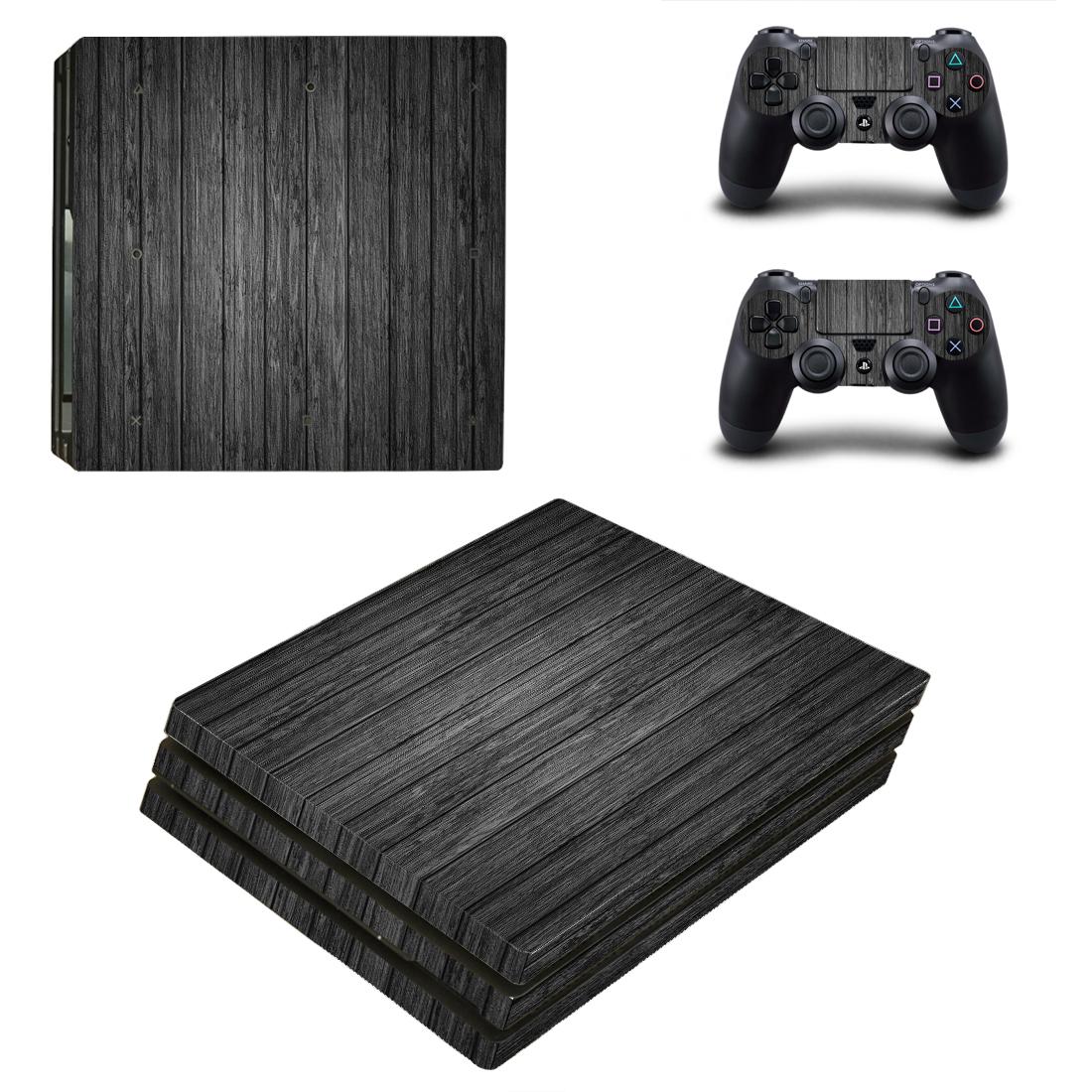 PS4PRO机身贴纸PS4防刮防水防尘动漫彩图PS4pro静电贴送摇杆帽11