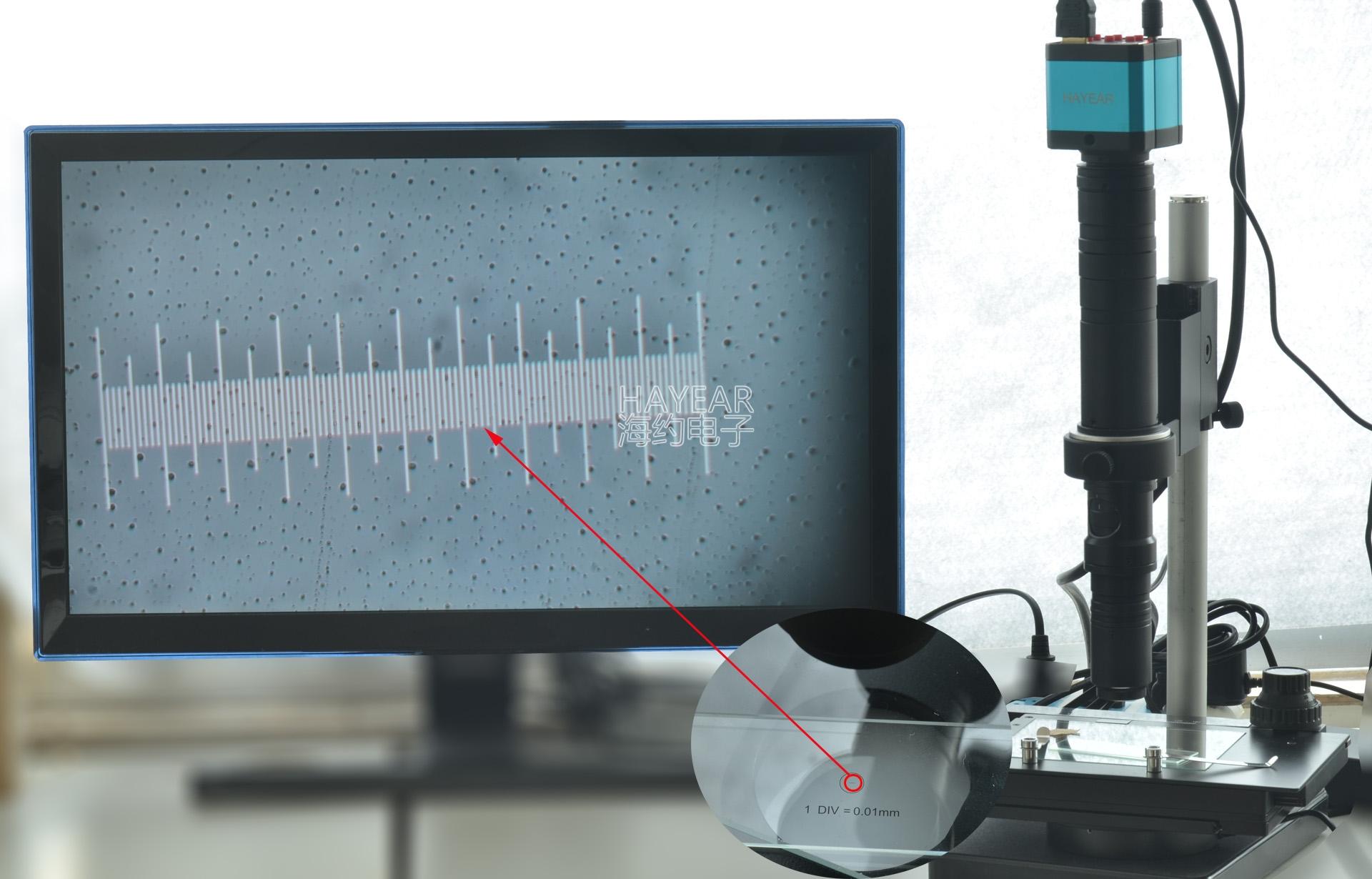 1000X倍 显微镜 高倍同轴光镜头 点光源 同轴光工业相机镜头