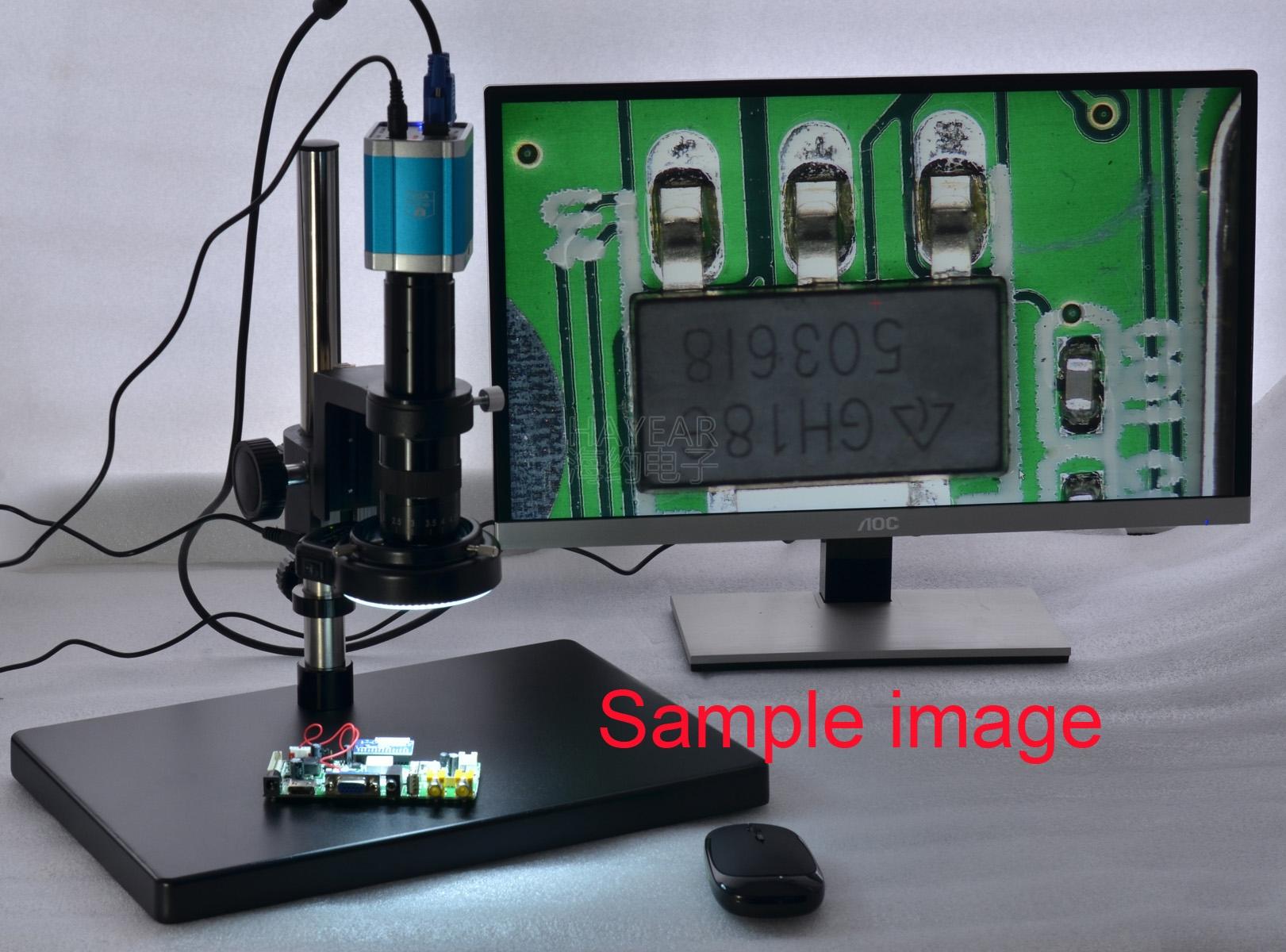 180X倍 光学镜头 单筒 高清4.5X 工业显微镜镜头 数码CCD相机镜头