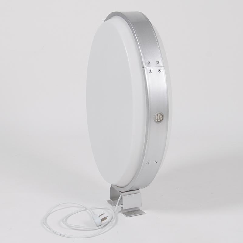 双面户外椭圆形LED吸塑灯箱美甲店铺招牌亚克力灯箱门头广告定做