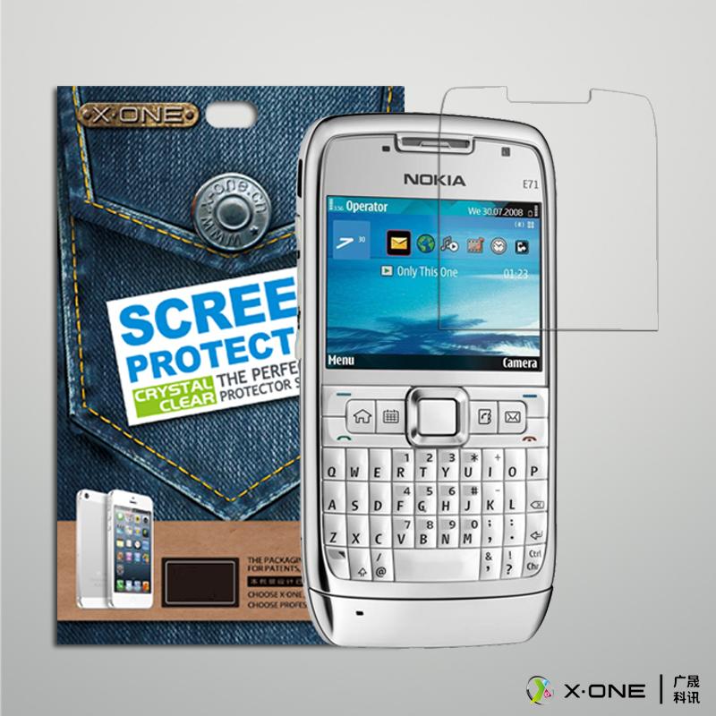 包郵 諾基亞E71貼膜NOKIA E72原裝膜e71 e172高清螢幕保護專用膜