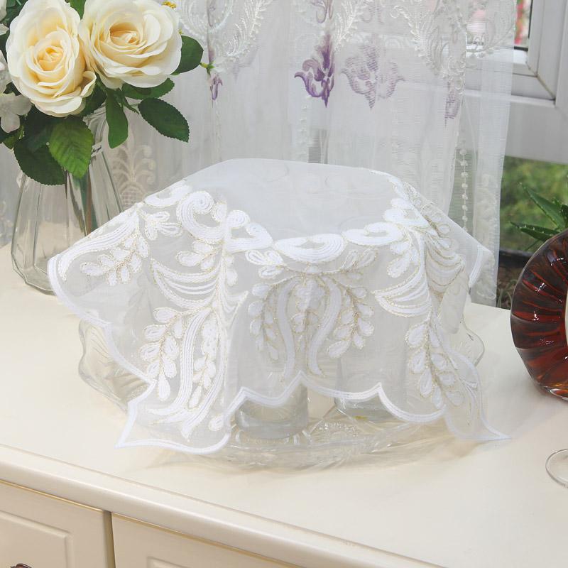 茶具茶盘布巾多用小方巾家用厨房小电器防尘遮盖布笔记本电脑盖巾