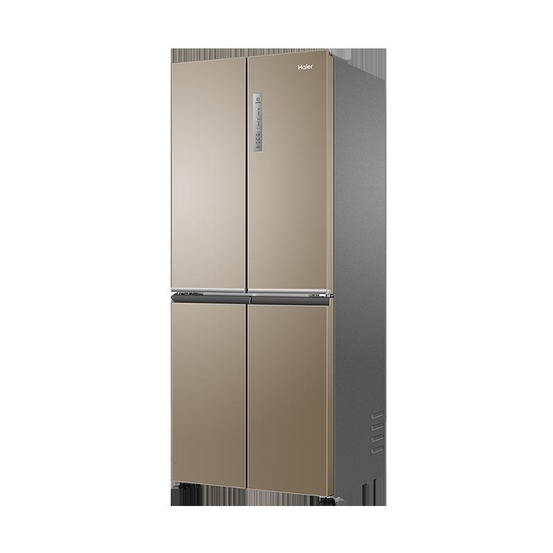 官方旗舰店 403L BCD 海尔冰箱双开门十字四门对开小型无霜变频家用