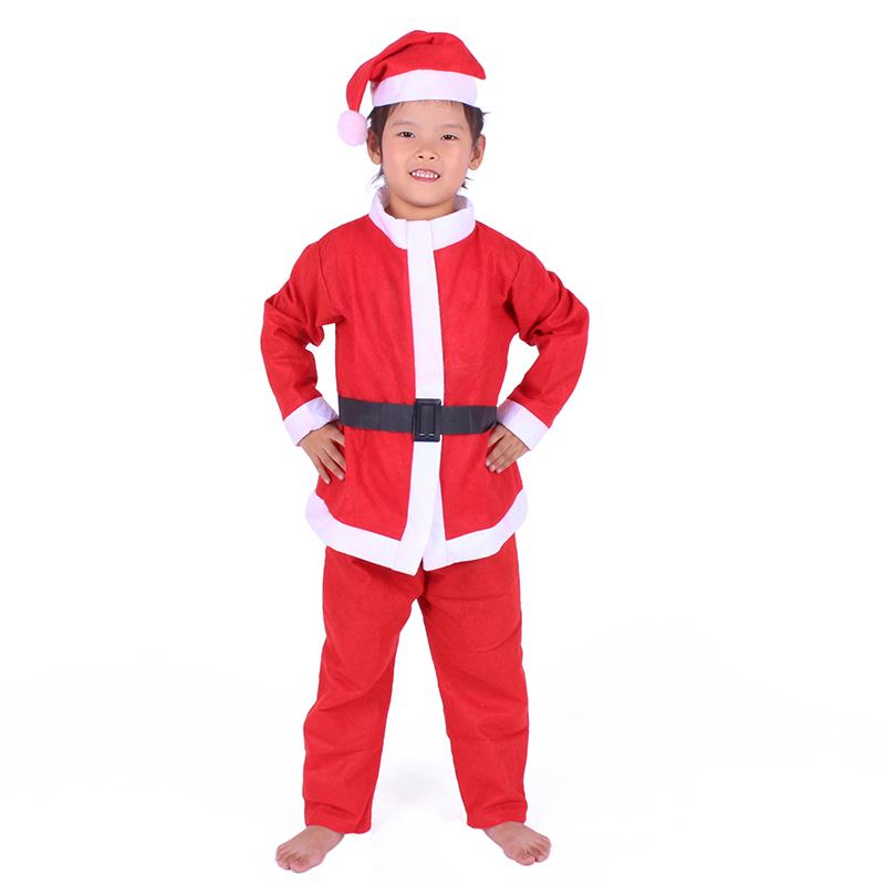 圣诞服装女圣诞节服饰男cos儿童圣诞老人套装演出服成人衣服围裙