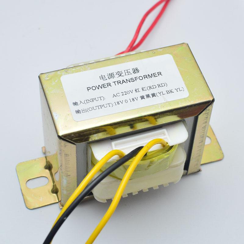 純銅 交流雙18V50W電源變壓器LM1875 功放適用