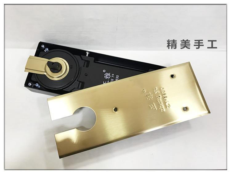 无框玻璃门地弹簧 超薄超重型地弹簧 金色玻璃门地弹簧 DODO