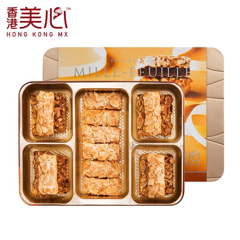 口味甜心酥礼盒蝴蝶酥进口糕点特产小吃送礼礼盒 3 中国香港美心