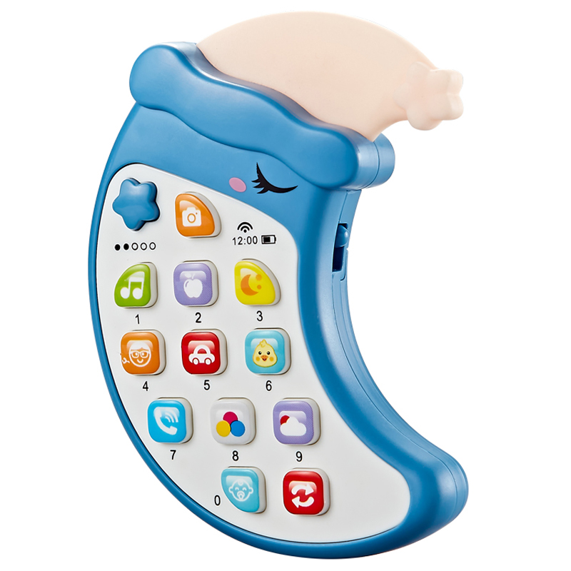 儿童宝宝音乐手机玩具 女男孩电话