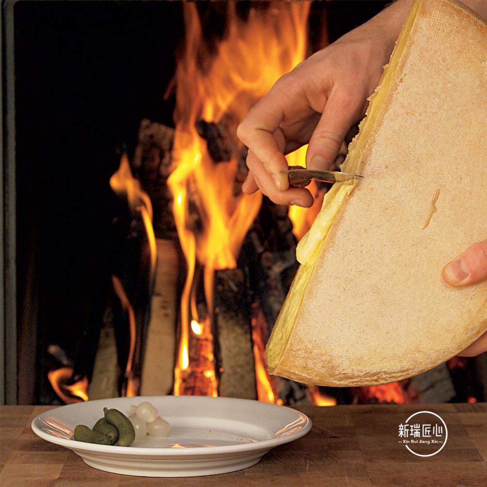 奶酪芝士片起司 热融 400g 干酪 拉克雷特 奶酪 Raclette 法国进口