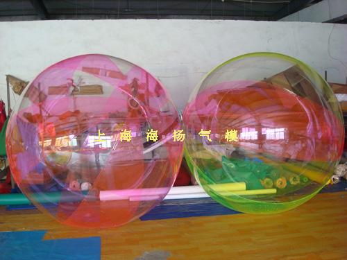 水上步行球 成人透明球玩具进口拉链2米2.5M3米水晶芭蕾跳舞球