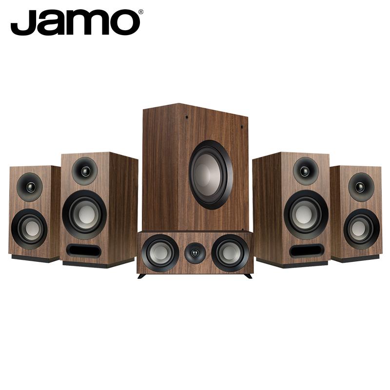 客厅环绕音箱 HIFI 组合家庭影院音响套装发烧级 5.1 家用书架式 HCS S803 尊宝 JAMO 丹麦 华南总代