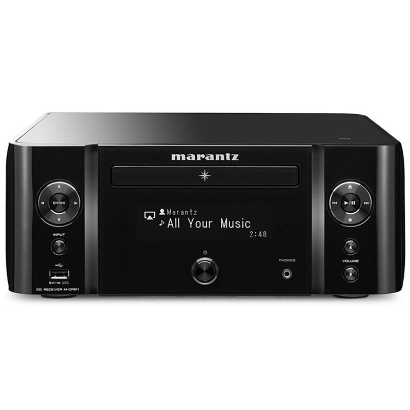Marantz/马兰士 M-CR611 CD机播放器蓝牙多媒体网络音频功放一体机音响