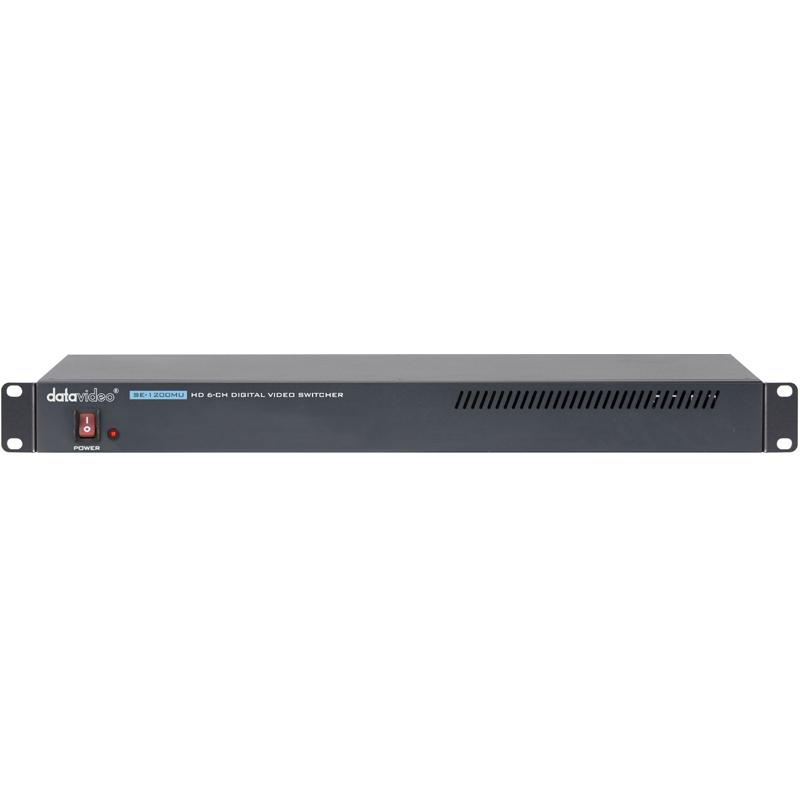 洋铭/datavideo SE-1200MU 6路机架式切换主机导播台切换台