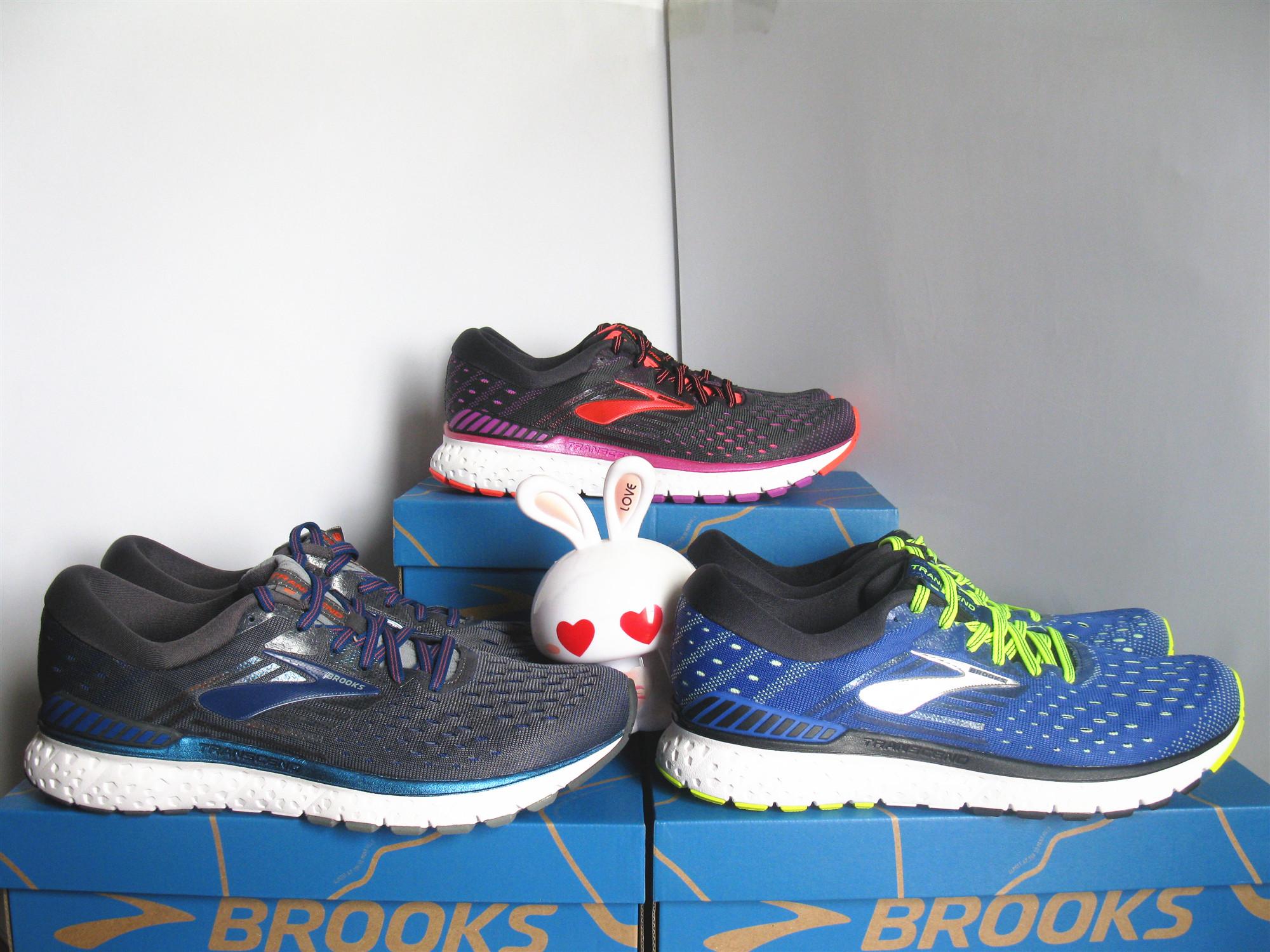 19年新款 布魯克斯Brooks Transcend超越6 5男 女穩定支撐跑鞋