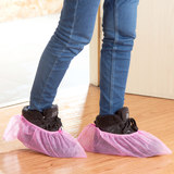 Home indoor non-slip wear-resistant thick disposable shoe covers home non-woven dustproof foot cover student cloth shoe cover