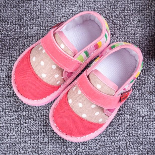 崔奶奶儿童千层底单鞋学步鞋1-3岁2宝宝童鞋婴幼儿手工布鞋女春秋