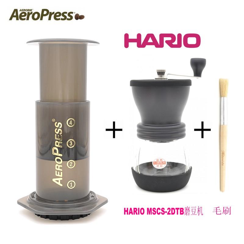 美国四代新款爱乐压 aeropress便携手冲咖啡壶法压壶超值套装包邮