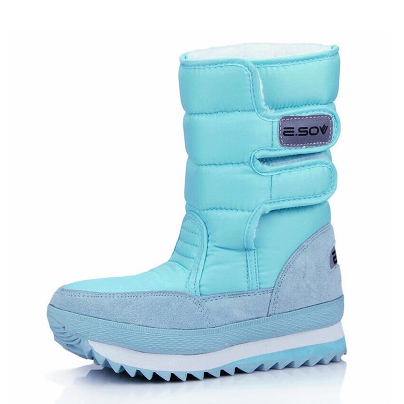冬季新款女鞋平底雪地鞋防水防滑雪地靴女加厚保暖棉鞋短靴棉靴子