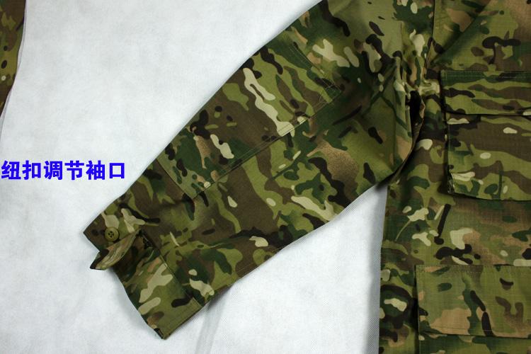 常规版BDU REGULAR  MC迷彩作训套装CP迷彩服网格料套装 一套价