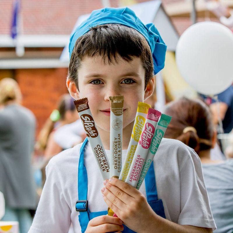 [淘寶網] 澳洲sipahh咕嚕嚕神奇變味吸管糖兒童魔力牛奶吸管10支25支40支裝