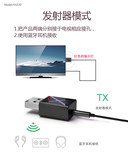 Bluetooth 5.0 Audio Transmitter Receiver 2-in-1 Bluetooth Audio Car Audio TV to Wireless AUX Cable