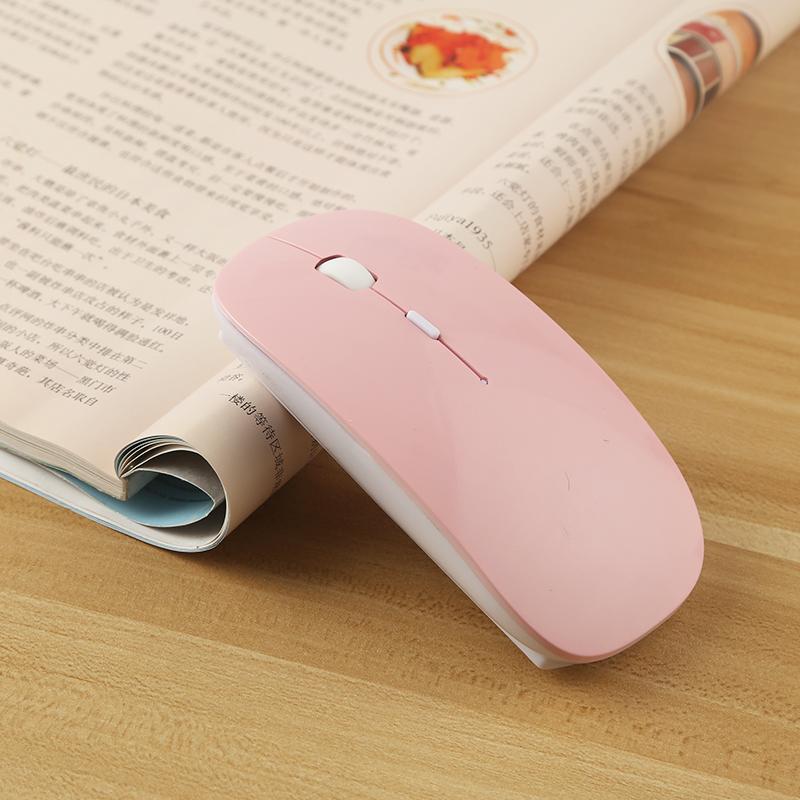 无线鼠标女生充电静音可适用小米联想戴尔苹果惠普华硕华为thinkpad笔记本电脑蓝牙鼠标男台式无声mac可爱