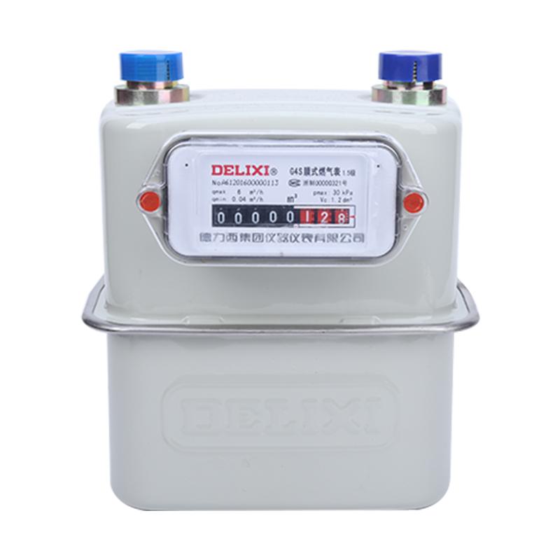 德力西家用天燃气表/煤气表/天然气/液化气/G4S钢壳