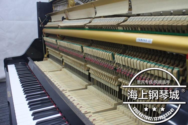 考级入门练习立式工厂包邮送琴凳 U1G 日本进口二手钢琴雅马哈