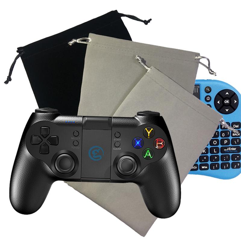 遊戲手柄收納袋 迷你小鍵盤保護收納袋 耳機盒子資料線袋子 黑色