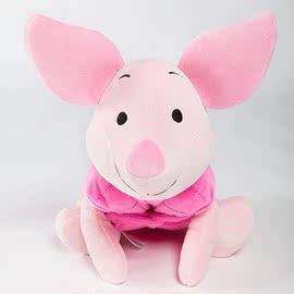 Zoobies迪士尼小猪皮节宝宝三合一抱枕佟丽娅同款多功能毛绒玩具
