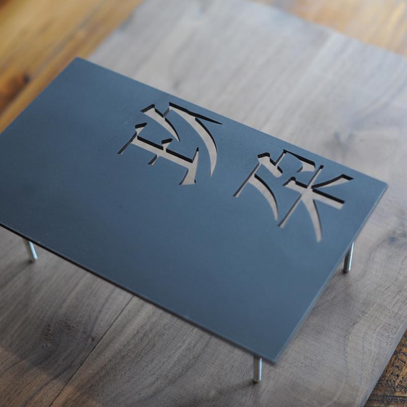 铁艺门牌北欧简约LED发光招牌创意字体设计酒店别墅客栈通用